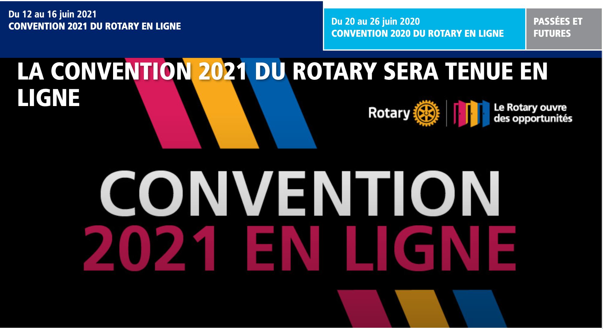 CONVENTION 2021 EN LIGNE